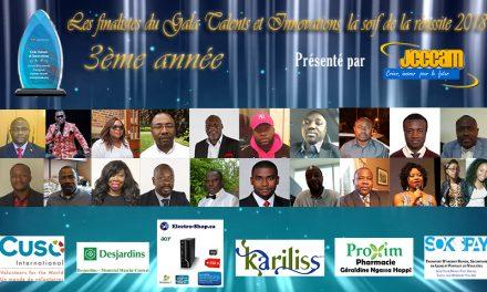 Dévoilement des finalistes de la 3ième édition du GALA