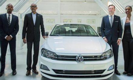 Automobile : le premier véhicule Volkswagen « Made in Rwanda »