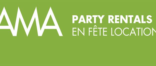 Ama party rental / En fête location