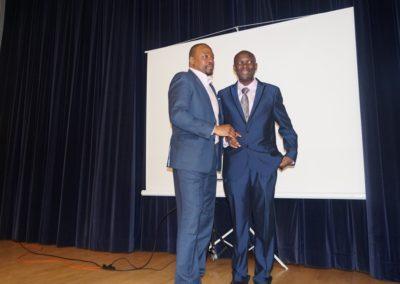 M. Claudel Tchokonté & M. Pierre Marc Ngamaleu