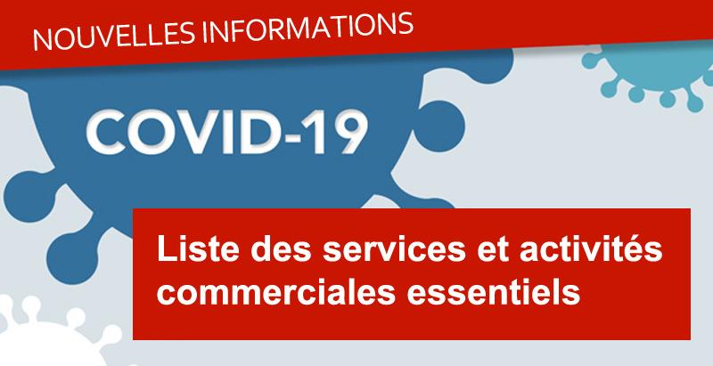 Fermeture de commerces et Entreprises au Québec: êtes vous sur la liste?